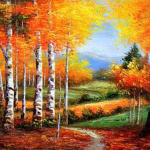 Oil Painting on Canvas : Rs 5400