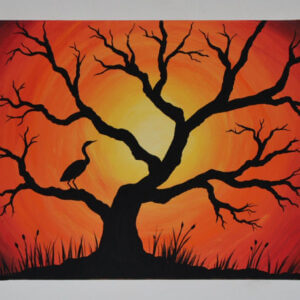 Acrylic Painting on Canvas : Rs 5400