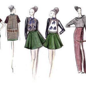 Fashion Illustration : Rs 14400
