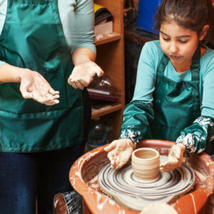 Mom and Me Pottery Programme